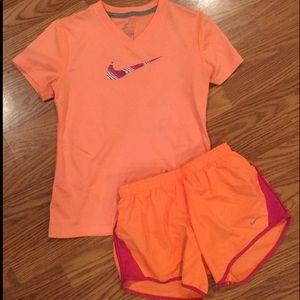 Girls Nike Short Set